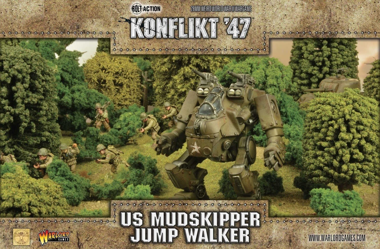 US Mudskipper Jump Walker