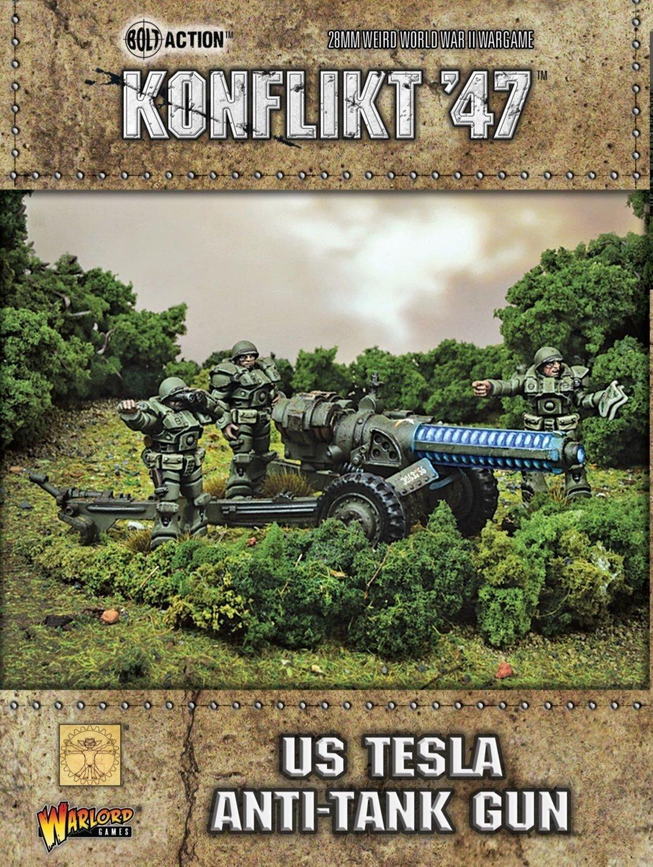 Us Tesla Anti-tank Gun