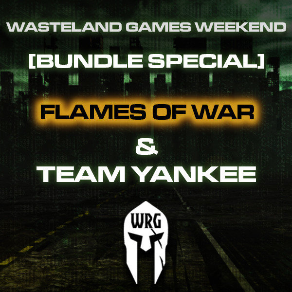 Wasteland Games Weekend (Flames of War & Team Yankee - Bundle)
