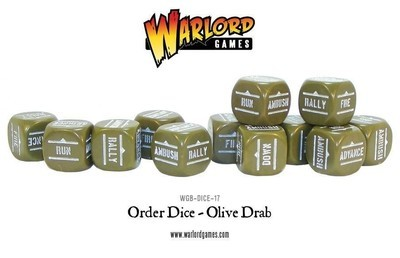 Bolt Action Dice Olive Green