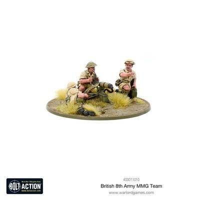 British 8th Army MMG Team
