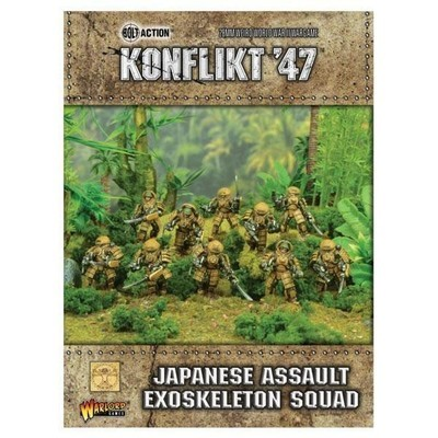 Japanese Assault Exoskeleton Squad