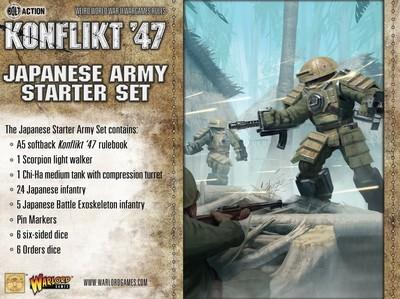 Konflikt '47 Japanese Starter Set