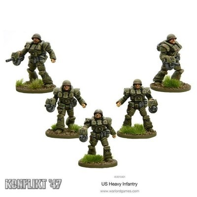 Us Heavy Infantry