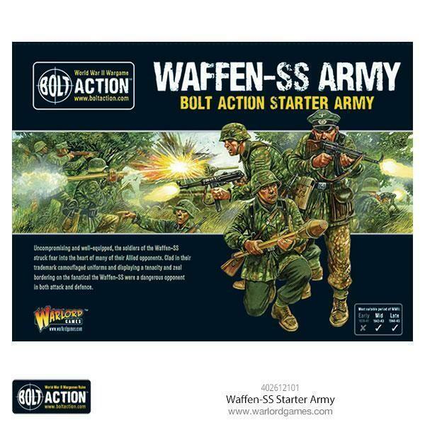 Waffen SS Army Starter - Bolt Action Starter