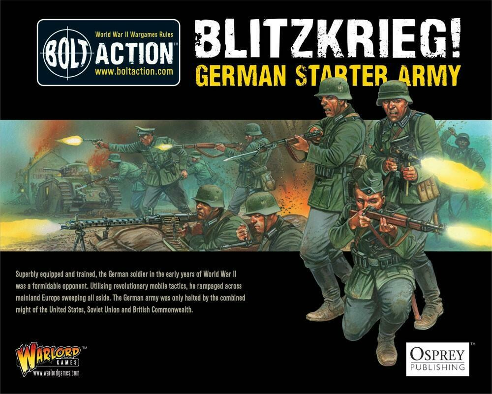 Blitzkrieg German Starter Army