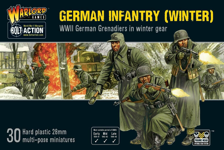 German Infantry Winter