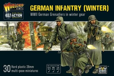 German Infantry Winter