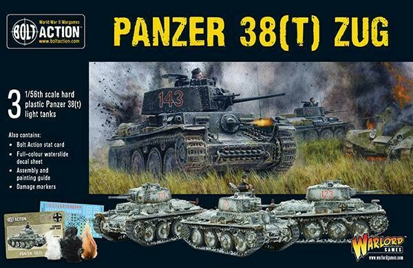 Panzer 38t Zug