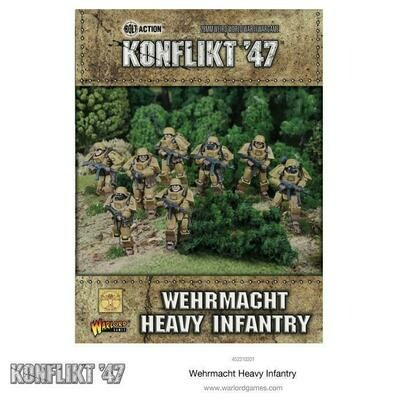 German Wehrmact Heavy Infantry