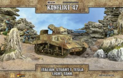 Italian Stuart T Tesla Light Tank