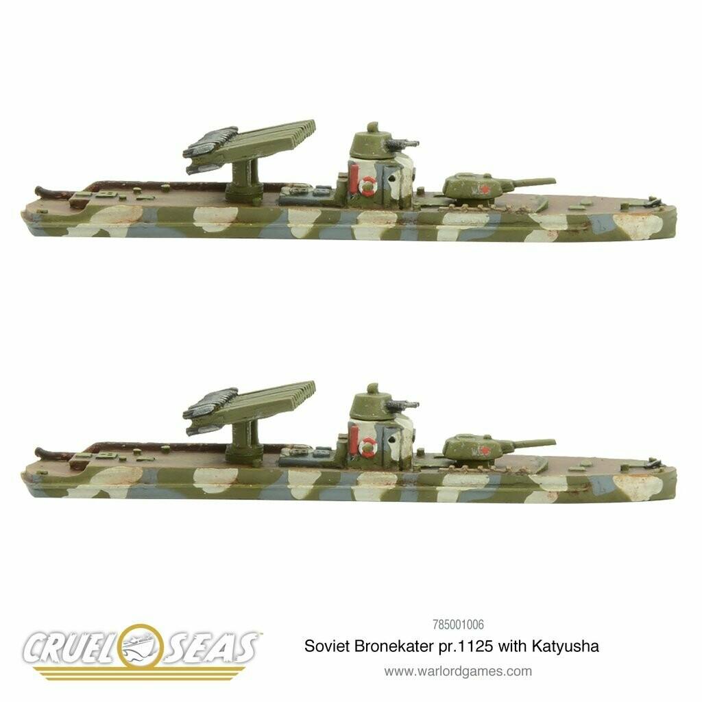 Cruel Seas Soviet Bronekater pr. 1125