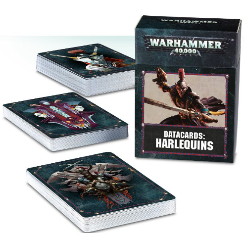 Datacards Harldquins