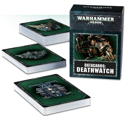 Deathwatch Cards