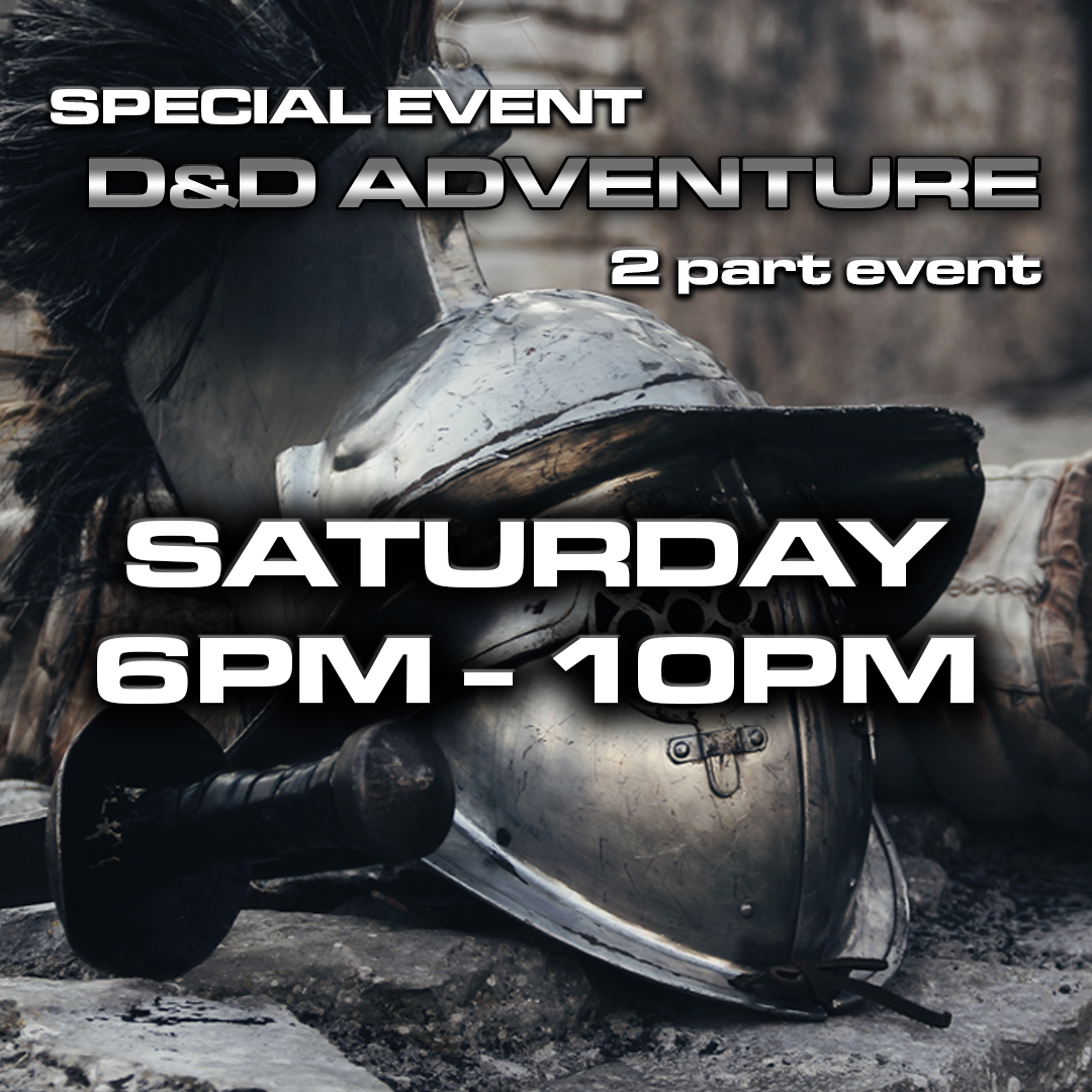 Age of Chivalry - D&D Event 2019 - Saturday