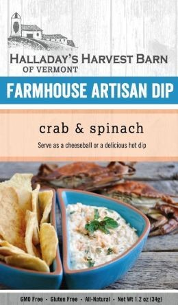 Halladay's Harvest Barn Farmhouse Artisan Dip Crab & Spinach