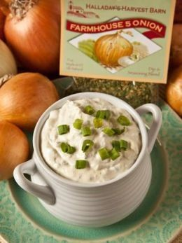 Halladay's Harvest Barn Farmhouse 5 Onion Dip & Cooking Blend