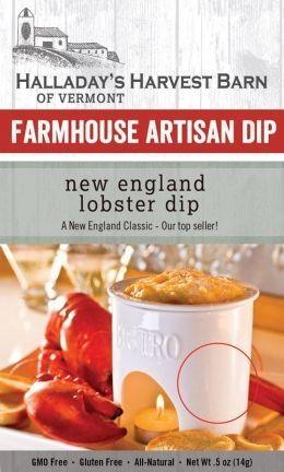 Halladay's Harvest Barn Farmhouse Artisan Dip New England Lobster Dip