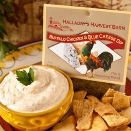 Halladya's Harvest Barn Buffalo Chicken & Blue Cheese Dip & Cooking Blend