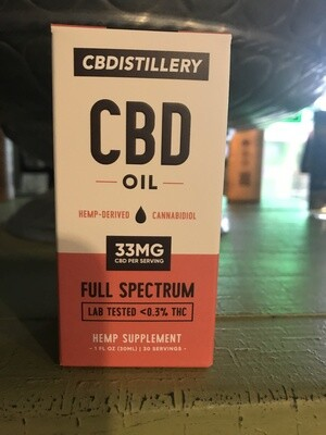 CBDistillery 1000 mg Full Spectrum Tincture