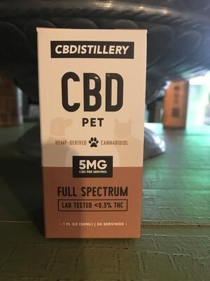CBDistillery 150mg Full Spectrum Pet Tincture