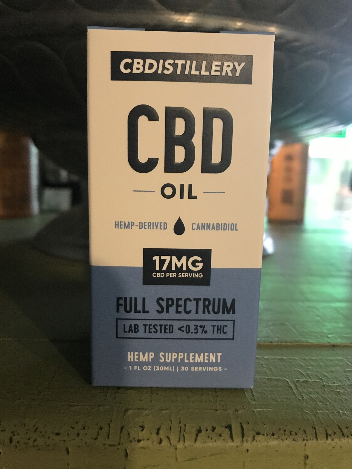 CBDistillery 500 mg Full Spectrum Tincture