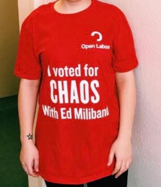 Ed Miliband T-shirt