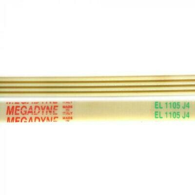 Ремень барабана 1105 J4 L-1068 мм, белый J104