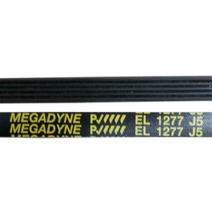 Ремень привода 1277 J5 чёрный для стиральных машин J498