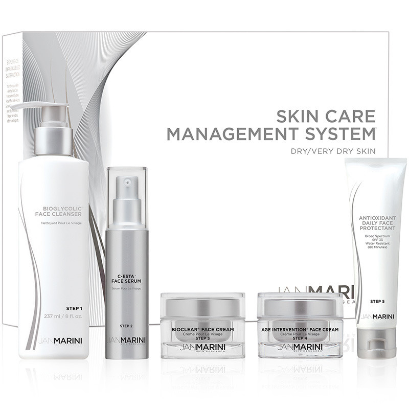 JM Skin Care Management System - Dry/Very D