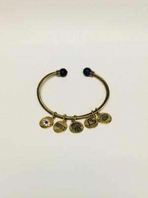 Redwood Charm Bracelet
