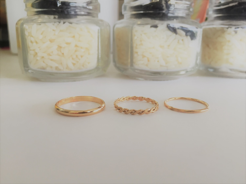 Gold Fill Toe Ring - Thin (1 mm)