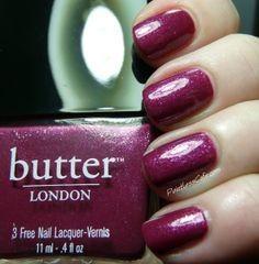 Butter London Nail Polish Figgy Pudding