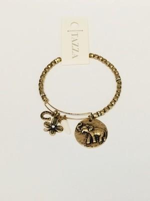 Tazza Bracelet - Gold