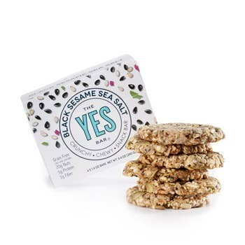 YES Bar Black Sesame Sea Salt