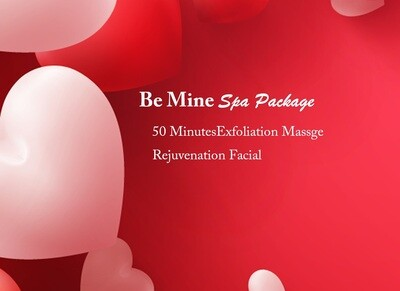 Be Mine Valentine Spa Package
