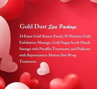 Gold Dust Spa Package