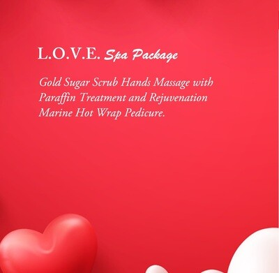 L.O.V.E. Spa Package