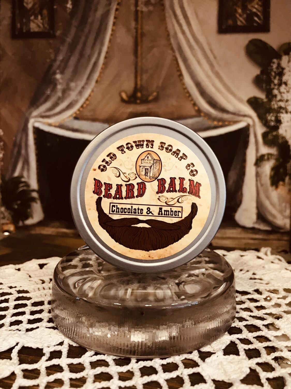 Chocolate & Amber -Beard Balm