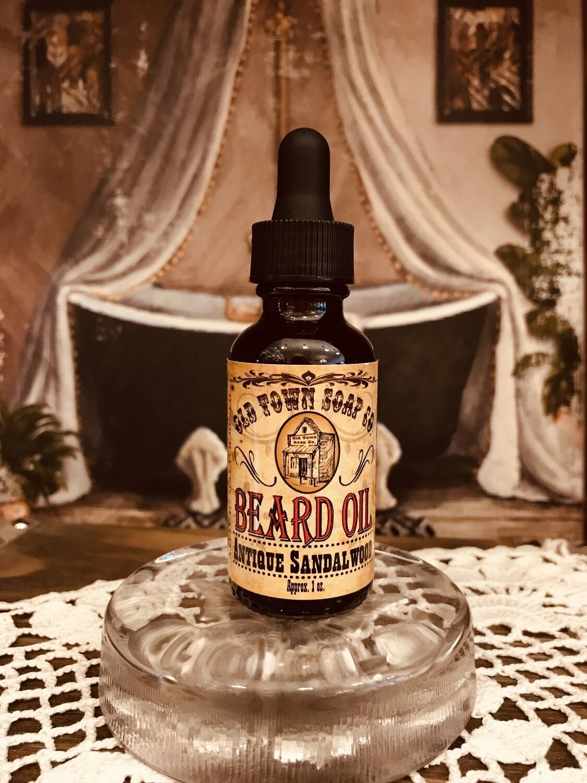 Antique Sandalwood -Beard Oil