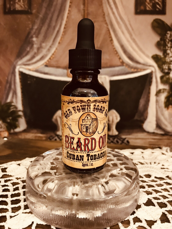 Cuban Tobacco -Beard Oil