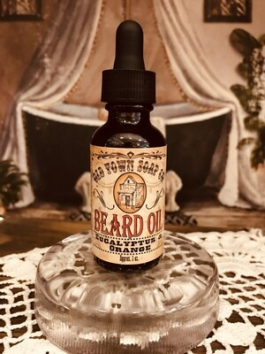 Eucalyptus & Orange -Beard Oil