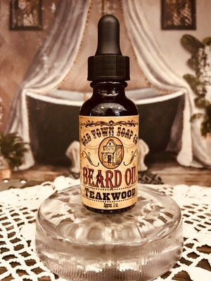Teakwood -Beard Oil