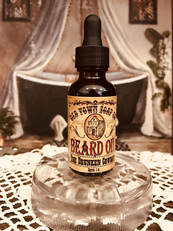 The Drunken Cowboy -Beard Oil
