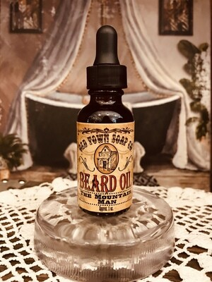 The Mountain Man -Beard Oil