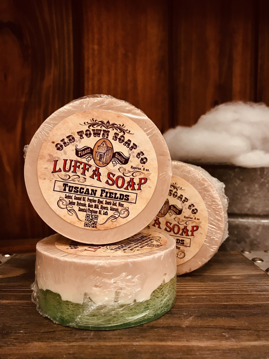 Tuscan Fields -Luffa Soap