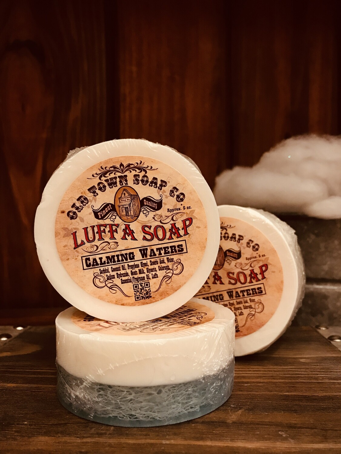 Calming Waters -Luffa Soap