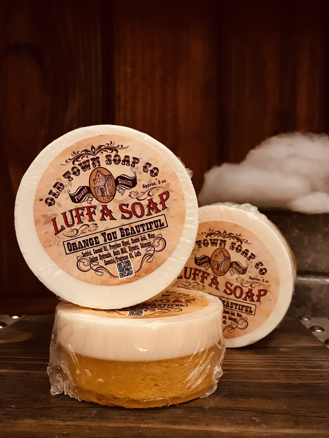 Orange You Beautiful -Luffa Soap