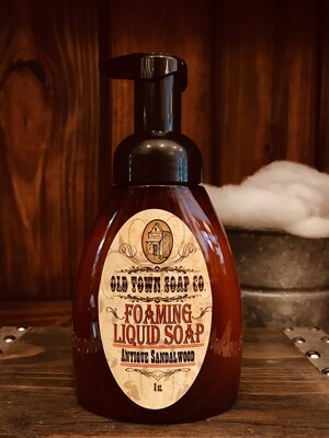 Antique Sandalwood -Pump Liquid Soap
