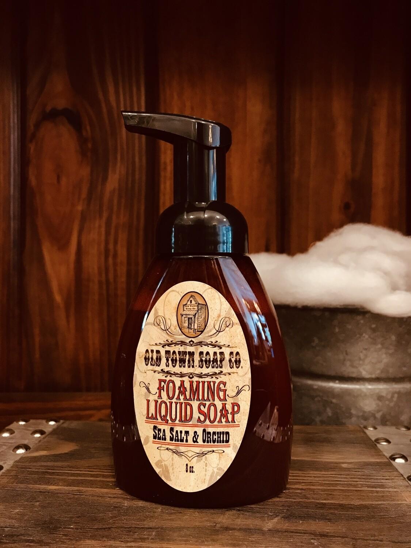 Sea Salt & Orchid -Pump Liquid Soap